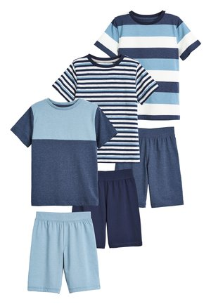 3 PACK STRIPE SHORT PYJAMAS - Pyjama set - blue