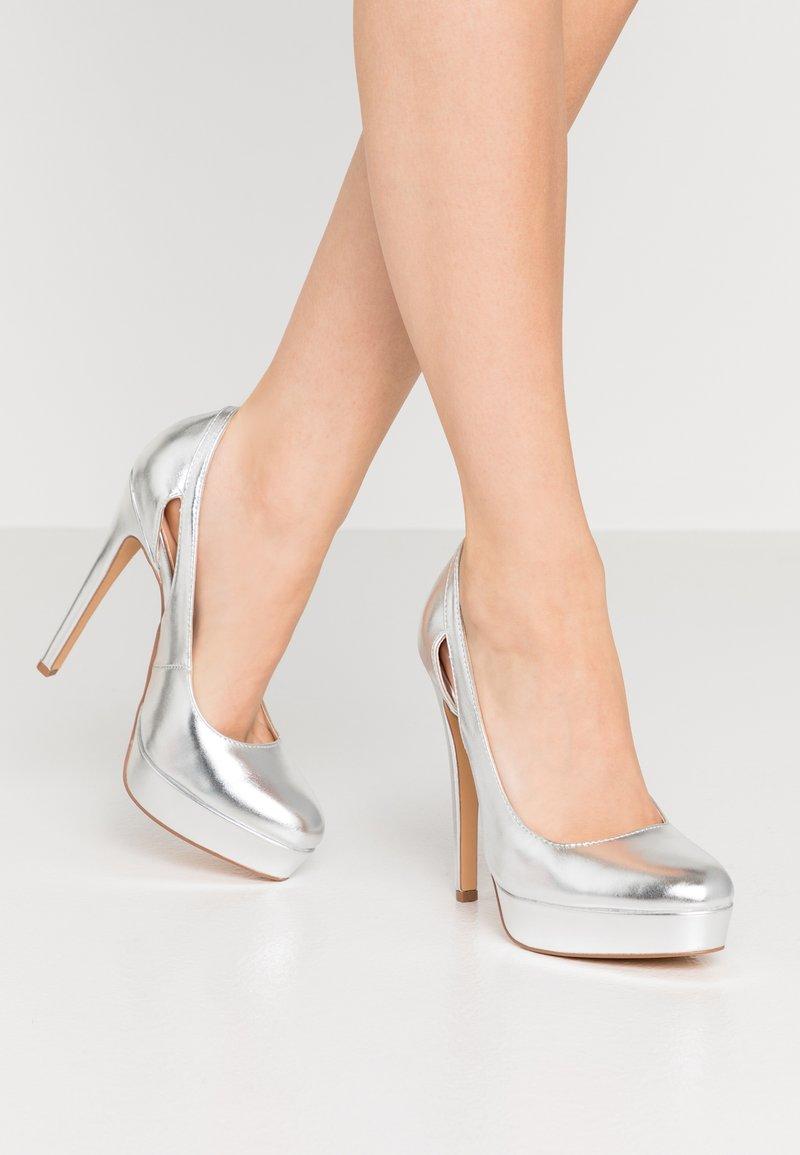 Even&Odd - Escarpins à talons hauts - silver