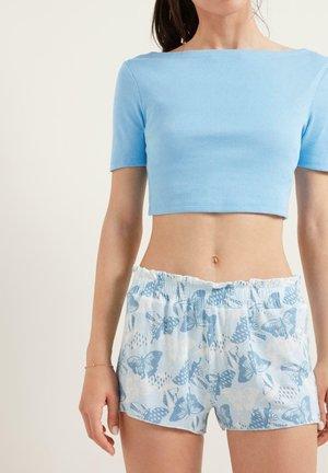 RAFFUNG IN DER TAILLE - Pyjama bottoms - new polvere st.butterfly mix