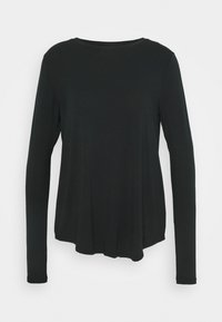 Hollister Co. - EASY CREW - Long sleeved top - black - 0