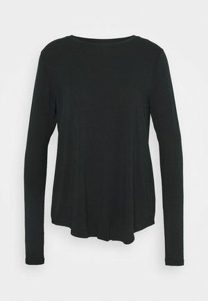 EASY CREW - Long sleeved top - black