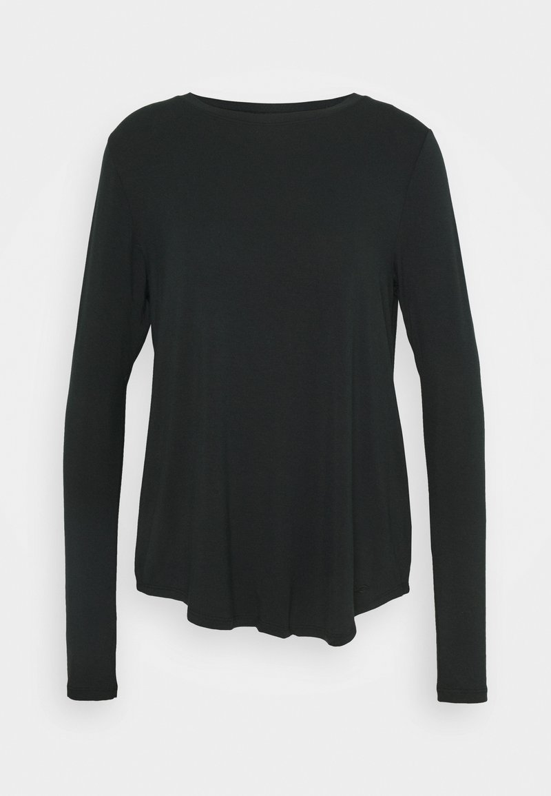 Hollister Co. - EASY CREW - Long sleeved top - black
