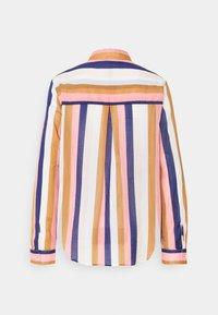 Emily van den Bergh - Button-down blouse - brown/rose/blue - 7