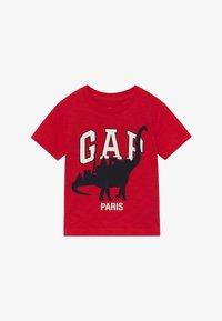 GAP - TODDLER BOY CITY TEE - T-shirt print - pure red - 2