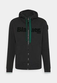 Blauer - APERTA CAPPUCCIO - Zip-up hoodie - black - 5