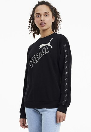 AMPLIFIED CREW NECK - Sweatshirts - black