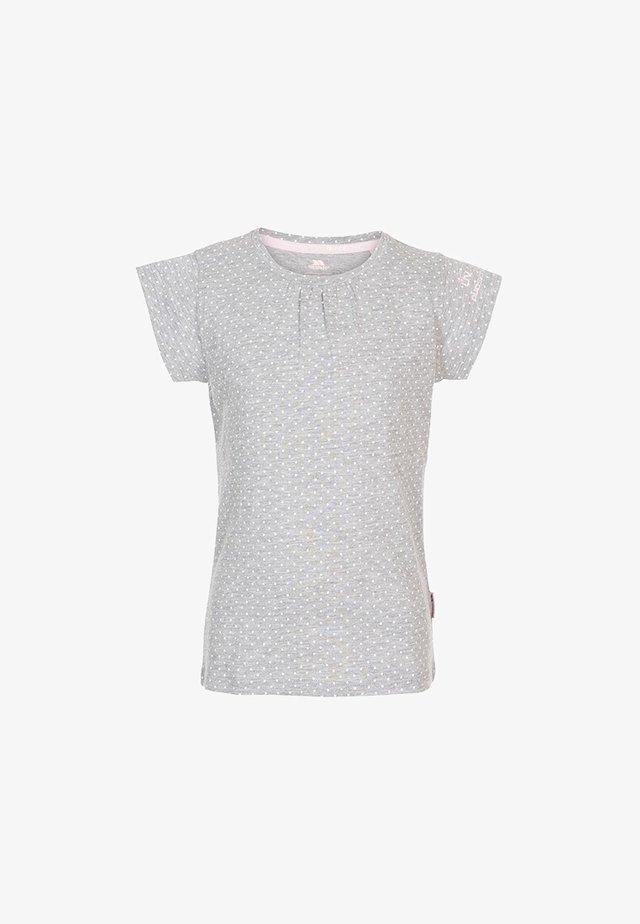 HARMONY - Print T-shirt - grey marl