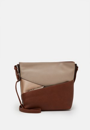 ELINA - Across body bag - cognac