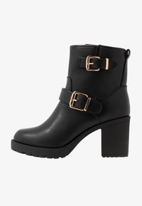 Anna Field Wide Fit - Platform ankle boots - black - 1