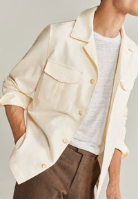 Mango - VICTORIA - Summer jacket - ecru - 3