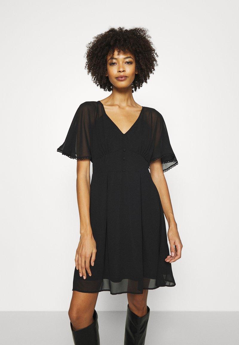 NAF NAF - CROCUS - Day dress - noir