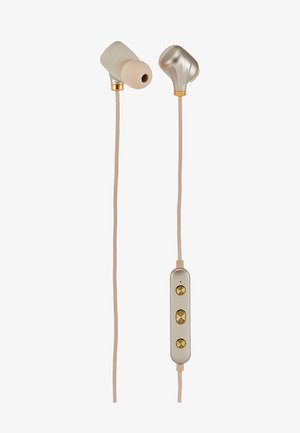 EAR PIECE II - Hörlurar - matte gold-coloured