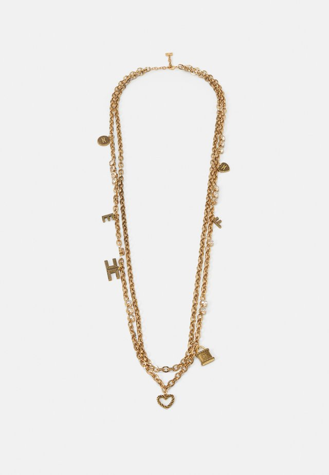 LETTER NECKLACE - Collana - oro