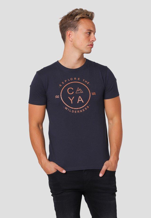 Arizona  - T-shirts print - dk.navy
