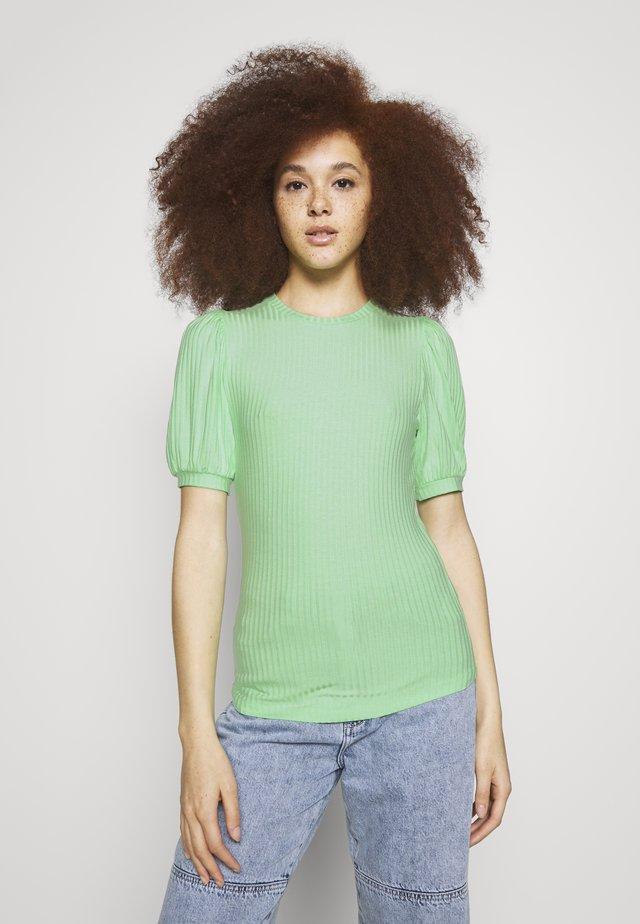 ENFAIREY PUFF TEE - T-shirt - bas - green ash