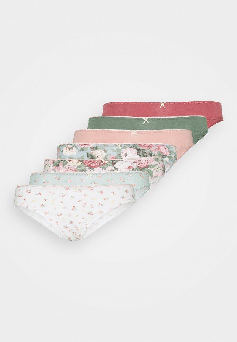 Women Secret - HIPSTER BRIEF 7 PACK - Slip - light pink