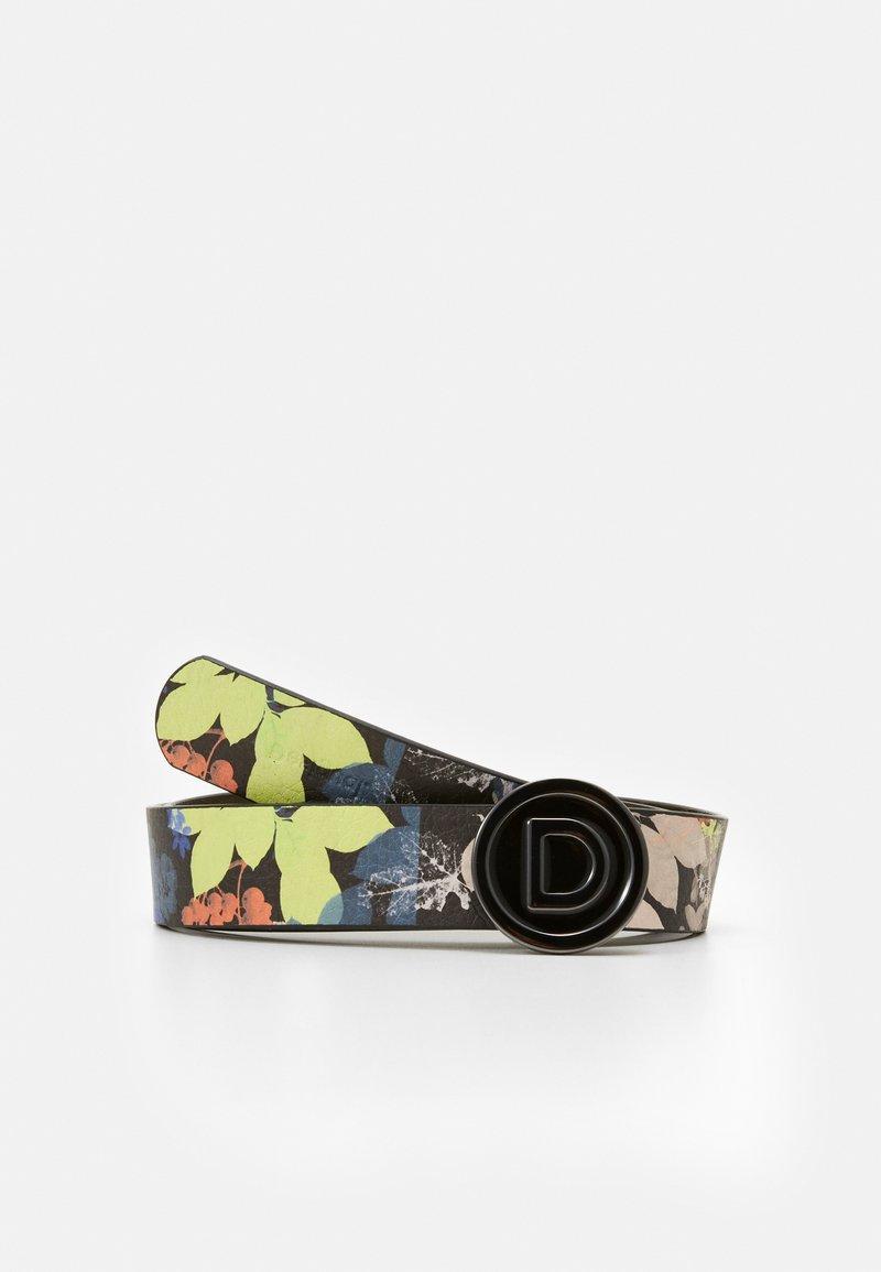 Desigual - BELT FLOURISH REVERS - Cintura - brown