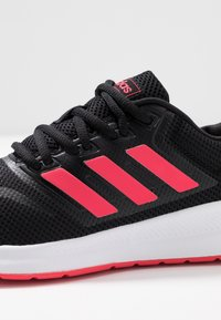adidas Performance - RUNFALCON - Neutral running shoes - core black/shock red/footwear white - 5