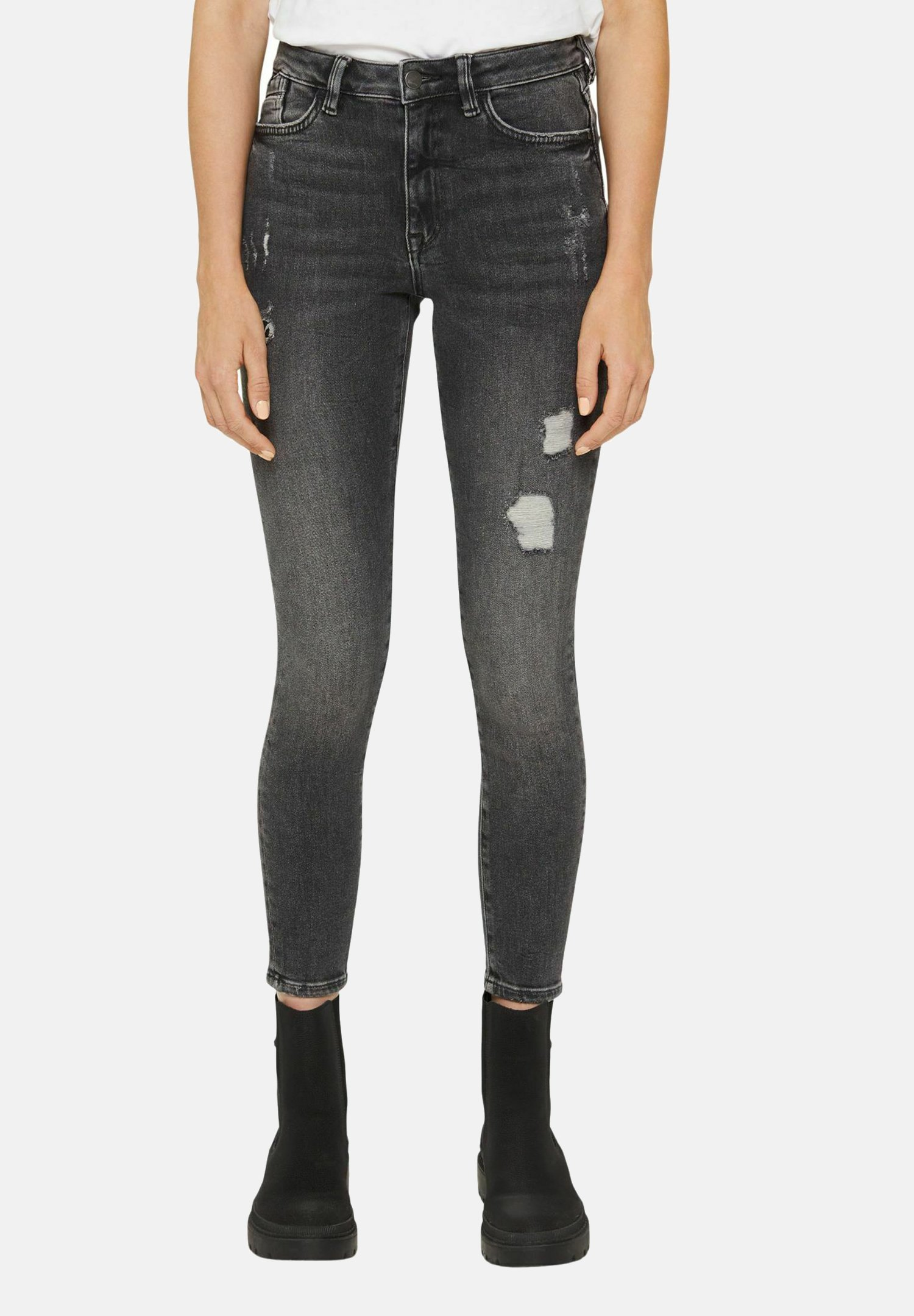 Damen CROPPED USED STRETCH - Jeans Skinny Fit