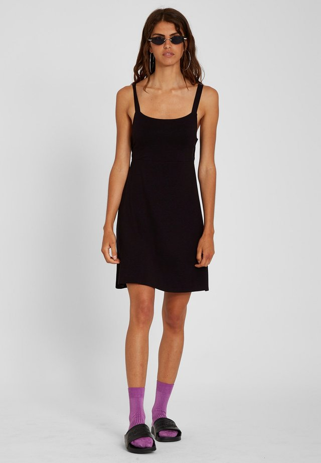 EASY BABE DRESS - Freizeitkleid - black