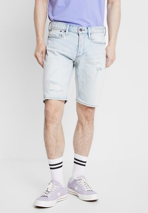 RAZOR - Denim shorts - blue