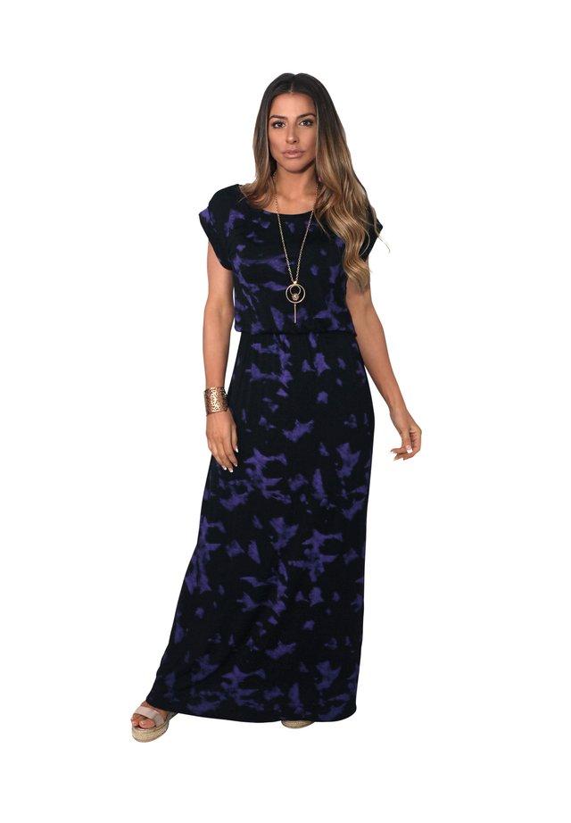 TIE DYE  - Maxi dress - purple