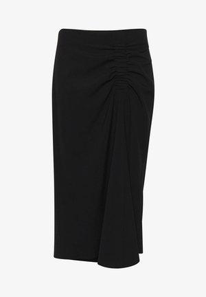 BYDANTA  - A-line skirt - black