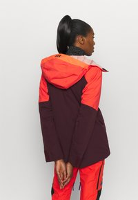 The North Face - TEAM KIT  - Schneehose - flare/tnf black - 5