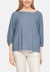 s.Oliver - Blouse - faded blue embroidery - 3