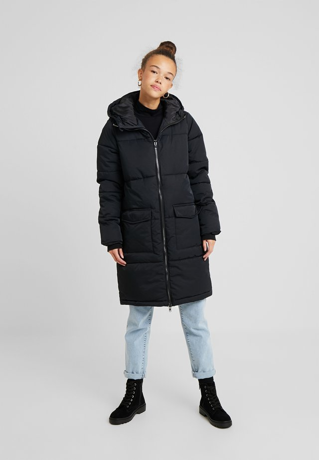OBJZHANNA LONG JACKET - Veste d'hiver - black