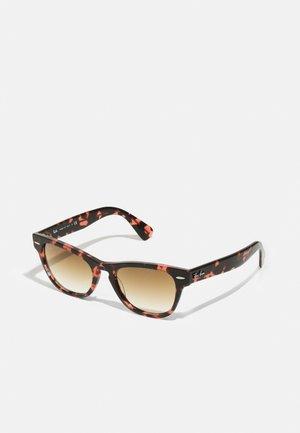 UNISEX - Sluneční brýle - pink havana