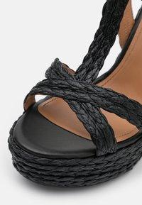 Pura Lopez - Sandály na platformě - black - 6