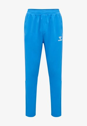 TAPERED  - Tracksuit bottoms - blue aster