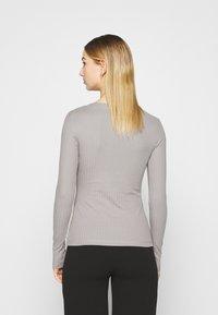 Even&Odd - Maglietta a manica lunga - grey - 2