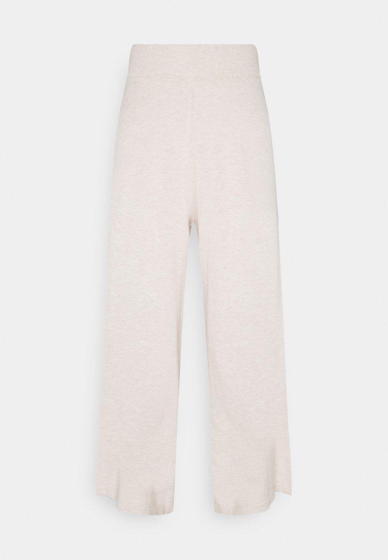 Lounge Nine - LNMALLORY PANTS - Trousers - pastel parchment melange