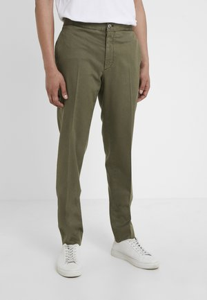 DAVIDE - Trousers - olive