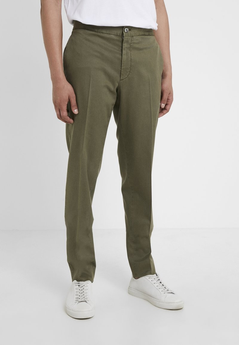 GTA - DAVIDE - Trousers - olive