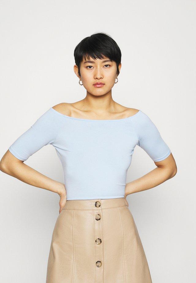 TANSY  - T-shirt basic - chambray blue