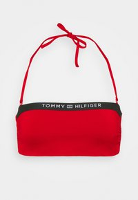 Tommy Hilfiger - CORE SOLID WIRED BANDEAU - Bikini top - primary red - 5