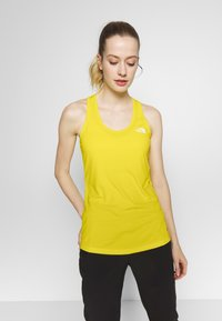 The North Face - WOMENS FLEX TANK - Sports shirt - lemon - 0