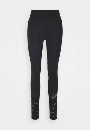 RUN BABY RUN LEGGING - Punčochy - black
