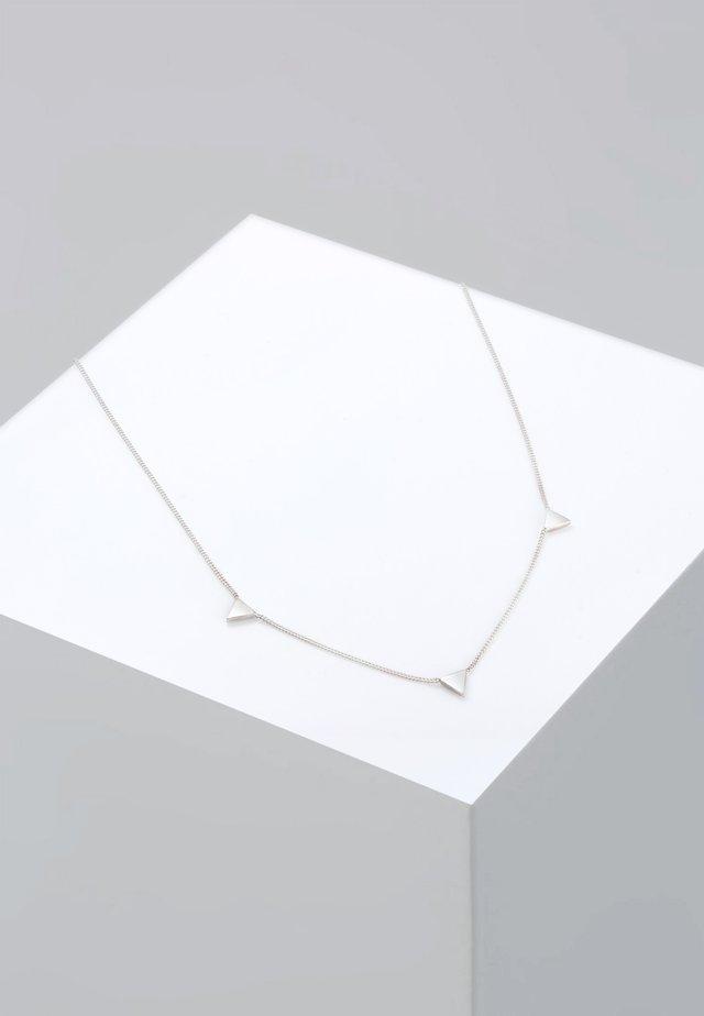 DREIECK - Ketting - silver-coloured
