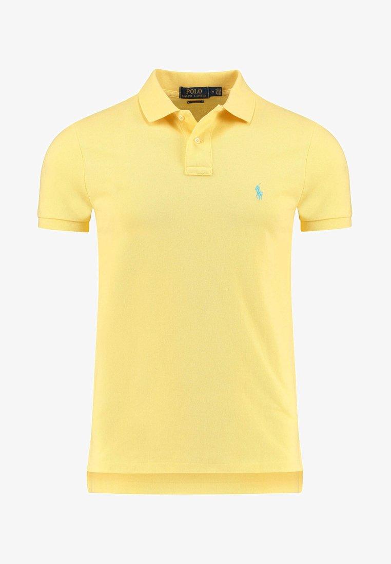 Polo Ralph Lauren - SLIM FIT MESH POLO SHIRT - Polo - yellow