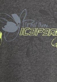 Icepeak - MODENA - T-shirt con stampa - lead grey - 2