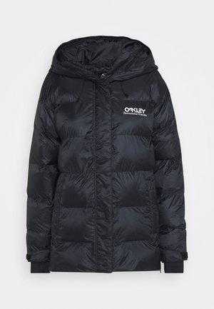 WINTER PINE PUFFER JACKET - Snowboard jacket - blackout