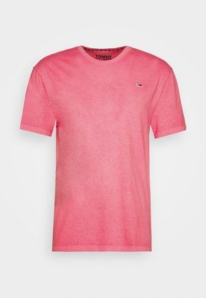 SUNFADED WASH TEE - Basic T-shirt - rosey pink