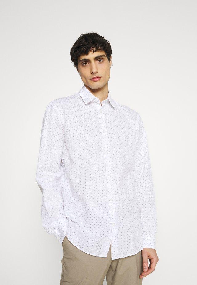 SLHSLIMNEW SHIRT - Košile - bright white