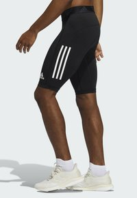 adidas Performance - FOR THE OCEANS PRIMEBLUE TECHFIT SHORT TIGHTS - Pantalón corto de deporte - black - 2