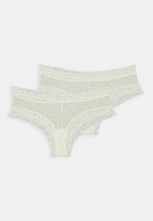 BRASILIEN WIDE BRIEF 2 PACK - Kalhotky - vanilla