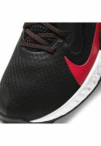 Nike Performance - RENEW ELEVATE - Basketball shoes - black/university red-white - 6